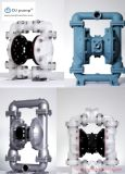 Bomba de aire del diafragma del acero inoxidable, bomba de aire plástica para las aguas residuales, aguas residuales y mezcla