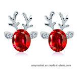 Оленей Chritmas серьги роскошь 3D-Crystal моды Earring алмазов