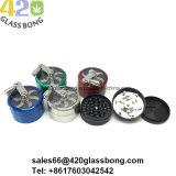 Smerigliatrici in lega di zinco tenute in mano per tabacco 420smoke/erba