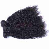 Cutícula completo Virgem Peruano Remy de cabelo humano Kinky Curl