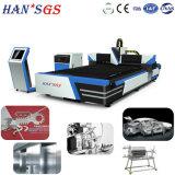 Ханс GS, которые становятся стратегии партнер Raycus запустить новую конструкцию 1000W лазерная резка машины