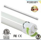 Dlc a indiqué le tube de T8 DEL avec les extrémités rotatives pour l'éclairage commercial