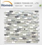 新しい浴室のステンレス鋼のタイルの組合せのガラス石造りのモザイク