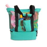 ピクニッククーラー袋が付いている網浜のトートバック