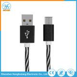 dati di 5V/2.1A 1m che caricano il micro cavo del USB