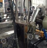 Два шага HDPE LDPE экструдера PP ПВХ пленки Reycling АБС EVA Москва машины