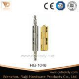 Scharnier van het Slot van de Veiligheid van het Messing van de Hardware van de deur de Verwijderbare Vlakke (Hg-1034)