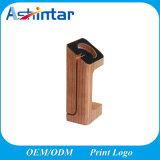 Sostenedor de madera de la estación de carga para el corchete de la pulsera de madera sólida de Iwatch