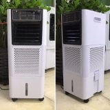 Refrigerador de aire de la evaporación del agua, refrigerador de aire evaporativo móvil, refrigerador de aire tamaño pequeño