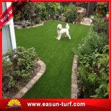 정원과 잔디 뗏장을 정원사 노릇을 하기를 위한 합성 인공적인 잔디