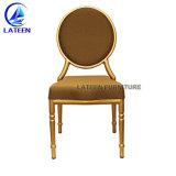 Volta Redonda Gold Hotel Cadeiras de banquetes de casamento francês Louis Ghost Presidente