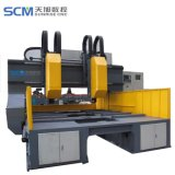 CNC Machine van de Boring van de Platen van de Hoge snelheid van de Brug de Bewegende