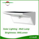 Lampada da parete bianca di colore di illuminazione esterna a energia solare speciale di T-Stile