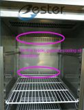 Commerciële Ijskast Zes het Kabinet van de Deur van het Glas bij Restaurant (GN1/1)