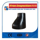 Reductor concéntrico del acero de carbón de JIS