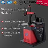 Machine à gravier laser à fibre de 20W Raycus Plastic Aluminium Vente en plastique en acier inoxydable