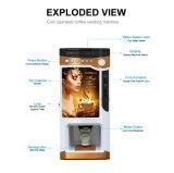 Para Kuwait espresso en el mercado de monedas de la máquina expendedora de café F303V