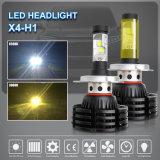 Super Bright 3000K, 6500K LED das luzes de nevoeiro H7, H11 de elevada potência das lâmpadas de 12V 24V Cores Duplo H4 Farol de LED para carro