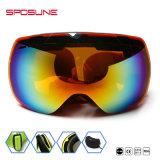 Esportes de neve no inverno com Anti-Fog UV para esqui óculos de protecção