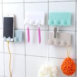 스티키 창조적인 이동 전화 비용을 부과 대 이동 전화 대 iPad 비용을 부과 대 벽 Traceless 4 훅 저장 선반