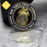 Überzogene Andenken-Münze der China-Lieferanten-3D Messingbronzesilber