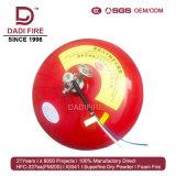 Sistema extintor extrafino del extintor del polvo del producto químico seco del ABC