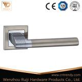 Conception simple de zinc de verrouillage de poignée de porte pour l'entrée de porte (Z6181-ZR09)