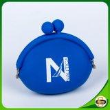 Carteira de borracha do silicone da moeda da bolsa da moeda do silicone para crianças