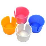 ألوان مختلفة مستهلكة أسنانيّة بلاستيكيّة [دبّن] طبق