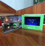 """El mejor precio de 2,4"""" de negocios Personalizado 4.3"""" 5' 7"""" 10'' pulgadas LCD Video Folleto"""