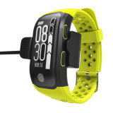 IP68 neuer Bluetooth Bildschirm der Noten-OLED intelligentes GPS-Sport-Band