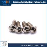 La vis en acier inoxydable en usine personnalisée SUS304 vis hexagonale à tête ronde de croix