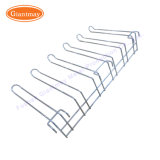 Plancher magasin permanent Présentoir en métal pour la pendaison de crémaillère de crochet d'articles