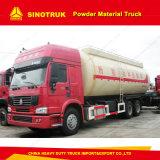 9m3 HOWO 6X4 대량 시멘트 트럭 분말 물자 유조 트럭