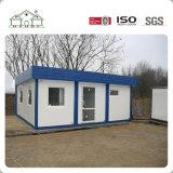 Chambre à la maison préfabriquée modulaire personnalisée économique de sandwich à Prefabricared de structure métallique de chambre à coucher