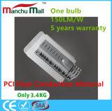 100W IP67 PCIの熱伝導の物質的な穂軸LED屋外ランプ