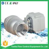 2'' en acier inoxydable 304 motorisé clapet à bille sur off de l'eau (T50-S2-C)