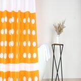 OEM / ODM dot Design blanc de rideau de douche avec Anti-Crease