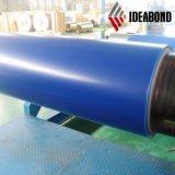 Le matériau de construction d'Ideabond a enduit la bande d'une première couche de peinture en aluminium