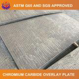 Carboneto do cromo que afronta a placa do revestimento