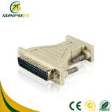 Kundenspezifisches bewegliches RoHS DVI 24+1 Energien-Weibchen zum männlichen Adapter für Laptop