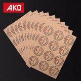48X le agradecen escritura de la etiqueta de la etiqueta engomada del sello del papel revestido por favor/sobre/tarjeta de la boda