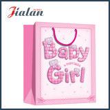 Coloré bon marché incité le bébé mignon pour concevoir le sac de papier estampé de vêtement