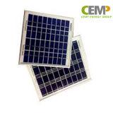 Panneau solaire polycristallin 3W, 5W, 10W 20W 40W 80W pour l'usage de ménage