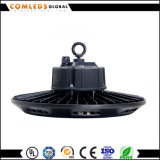 UFO impermeável Highbay 50With100With150With200With240W do diodo emissor de luz de IP65 120lm/W