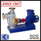 Pompe à eau chimique centrifuge d'eaux d'égout auto-amorçantes actionnées par moteur électrique