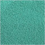 O verde salpica salpicos coloridos do sulfato de sódio para o pó de lavagem
