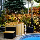 Beste Verkopende Mini Hot Tub SPA Superieure Ronde Houten Hete Ton