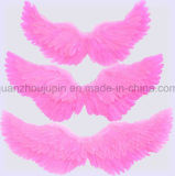 Custom filhos crianças Rosa Branca Feather Anjo asas