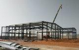 Supermercado de la estructura de acero/alameda de compras/oficina prefabricados para Abidjan